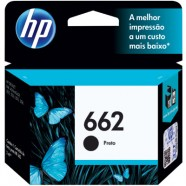 Cartucho De Tinta Ink Advantage Hp Suprimentos Cz103Ab Hp 662 Preto 2,0 Ml