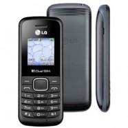 Celular Desbloqueado LG B220 Preto Dual Chip Rádio FM