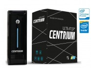Computador Desktop Intel Centrium Ultratop Intel Dual Core J1800 2.41Ghz 4Gb 500Gb Serial Preto