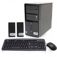 Computador Intel NTC Core i3-3250 3.4Ghz 4GB 500GB DVD-RW HDMI Asus H61M Linux - 4035