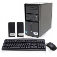 Computador Intel NTC Core i5-4460 3.40Ghz 4GB 500B DVD-RW Ultra HD Asus H81M­A Linux - 8025