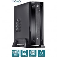 Computador Movva Mini Core Intel Dual Core 2.41Ghz 4GB 500GB - Mvmcj18005004