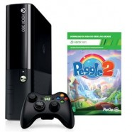 Console Microsoft Xbox 360 4GB + Jogo Peggle 2 (Download)
