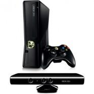 Console Xbox 360 4Gb + Kinect Sensor Com 1 Controle Sem Fio +1 Jogo - Jogcm004