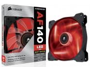 Cooler Fan Para Gabinete Corsair Co-9050017-Rled Af140 140Mm Quiet Edition Com Led Vermelha