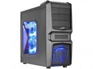 Gabinete Desktop Gamer Sentey Gs-6050 Entusiasta Halcon II Preto