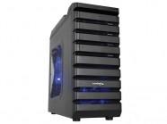 Gabinete Desktop Gamer Sentey Gs-6070 Entusiasta Abaddom II Preto