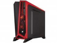 Gabinete Gamer Corsair Cc-9011085-Ww Carbide Series Spec Alpha Preto/Vermelho