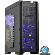 Gabinete PCYes Gamer Dragon Led Azul- 21494
