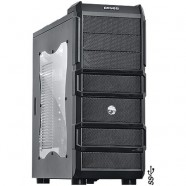 Gabinete PCYes Gamer Rhino Mid-Tower Preto 2 Fans 120 Mm- 18633