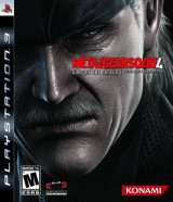 Game Ps3 Konami Metal Gear Solid 4 Guns Of The Patriots Ps3