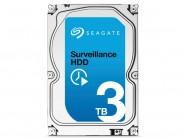 Hdd 3,5 Sistema Seguranca Vigilancia Seagate Surveillance 3 Teras 7200Rpm 64Mb 24X7 Sata 6Gb/S