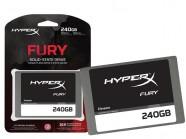 HDD SDD HyperX Gamer Shfs37A/240G Fury 240Gb 2.5
