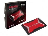 HDD SDD HyperX Gamer Shss37A/240G Savage 240Gb 2.5