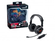 Headset Gamer Genius Hs-G500V Gamer Com Funcao Vibracao Usb