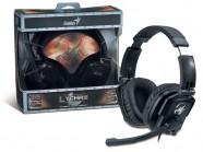 Headset Gamer Genius Hs-G550 Lychas 2.0Ch Driver 50Mm Vol/Mic/Mut