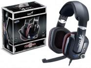 Headset Gamer Genius Hs-G700V Cavimanus 7.1Ch Virtual Gaming Usb