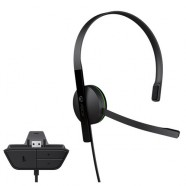 Headset Microsoft Chat Headset Com Fio Xbox One - xbox one