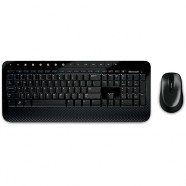 Kit Teclado e Mouse Sem Fio Microsoft Wireless 2000  - M7J-00021
