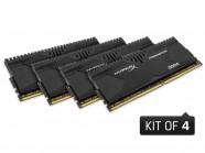 Memoria Ddr4 Hyperx Predator 32Gb Kit(4X8Gb) 2800Mhz Cl14 Black