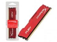 Memoria Gamer Hx316C10F/4 Fury 4Gb 1600Mhz Ddr3 Non-Ecc Cl10 240-Pin Udimm Blue