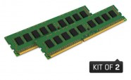 Memoria Kingston Desktop Kvr16Ln11K2/16 16Gb Kit (2X8Gb) 1600Mhz Ddr3 Cl11 Low Voltage 1.35V