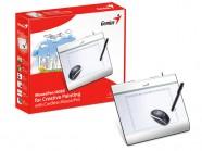 Mesa Digitalizadora Genius Mousepen I608X 8X6 5120 Lpi/2048 Niveis + Mouse Usb