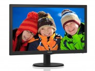 Monitor Philips 21.5' LED 1920 X 1080 Full Hd Widescreen Hdmi Vga Vesa