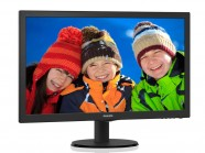 Monitor Philips 23,6' Led 1920 X 1080 Full Hd Widescreen Vga Dvi Hdmi Vesa Multimidia