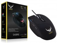 Mouse Gamer Corsair Ch-9000090-Na Sabre Rgb 8200Dpi Laser Preto Usb
