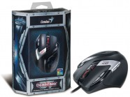Mouse Gamer Genius Deathtaker Laser 9-Botoes Mmo/Rts 100 - 5700 Dpi Usb