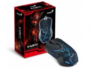 Mouse Gamer Genius X-G300 Optico 6 Botoes P/Games 1000-2000 Dpi Usb
