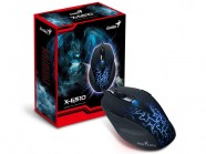 Mouse Gamer Genius X-G510 Optical 6 Botoes 500-2000 Dpi Usb