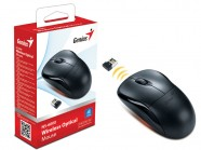 Mouse Wireless Genius Ns-6000 Usb Preto 2,4 Ghz 1000 Dpi
