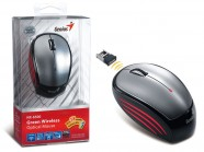 Mouse Wireless Genius Nx-6500 Cinza Usb Infravermelho 1200 Dpi