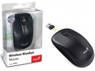 Mouse Wireless Genius Traveler 6000Z Blueeye Preto Usb 1200Dpi