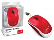 Mouse Wireless Genius Traveler 6000Z Blueeye Vermelho Usb 1200Dpi