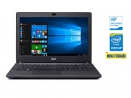 Notebook Intel Acer Nxg94Al002 Es1-431-P0V7 Pentium Qc N3700 4Gb 500Gb Win10 14 Led Usb 3.0 Hdmi Preto
