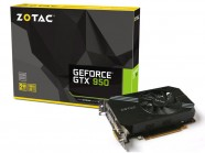Nvidia Geforce Zotac Gtx 950 Performance 2Gb Ddr5 128Bit