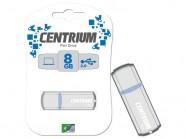 Pen Drive Nacional Ppb Centrium 8Gb Usb Drive 2.0 Prata Blister CPD8MP