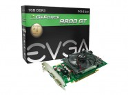 Placa de Video EVGA GT Mainstream NVIDIA 9800GT 1GB DDR3 256 bit 1400mhz 550mhz