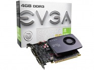 Placa de Video EVGA GT Mainstream NVIDIA GT 740 SuperClocked 4GB DDR3 128BIT 1334Mhz 1059Mhz