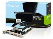 Placa de Video Gtx 750Ti Oc Slim 2Gb Ddr5 128Bit 5400Mhz 1072Mhz 640 Cuda Cores Dvi Hdmi Vga