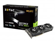 Placa de Video Gtx 980Ti Amp! Edition 6Gb Ddr5 384Bit 7010Mhz / 1051Mhz 2816 Cuda Cores Dvi Hdmi Dp
