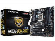 Placa Mae Gigabyte Ga-H170M-D3H M-Atx Lga 1151 Chipset H170