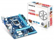 Placa Mae Lga 1155 Intel Gigabyte Matx Ddr3 1333Mhz Chipset H61 Vga Ppb GA-H61M-S1