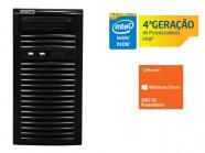 Servidor Torre Intel Centrium Sc-T1200 Quad Core Xeon 1231V3 3.4Ghz 4Gb 500Gb 2012 Win 15 Usuarios