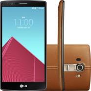 Smartphone LG G4 H818P Hexa Core 1,8Ghz Tela de 5,5'' 32GB Wi-Fi Cam 16MP 4G Couro