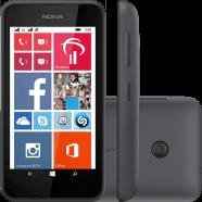 Smartphone Lumia 530 Desbloqueado Windows Phone 8.1 Tela 4 4Gb 3G Wi-Fi Câmera 5Mp Preto