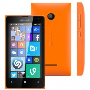 Smartphone Microsoft Lumia 435 8GB Dual Core 1,2Ghz Dual Chip Cam 2.0MP WiFi 3G 4.0 - Laranja